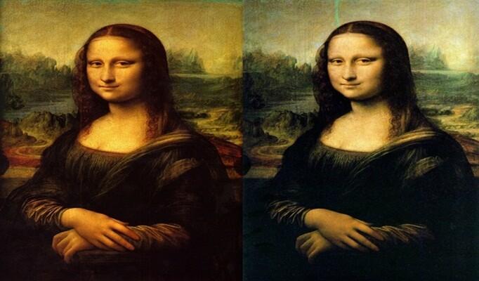 Leonardo da Vinci mona lisa çizimi