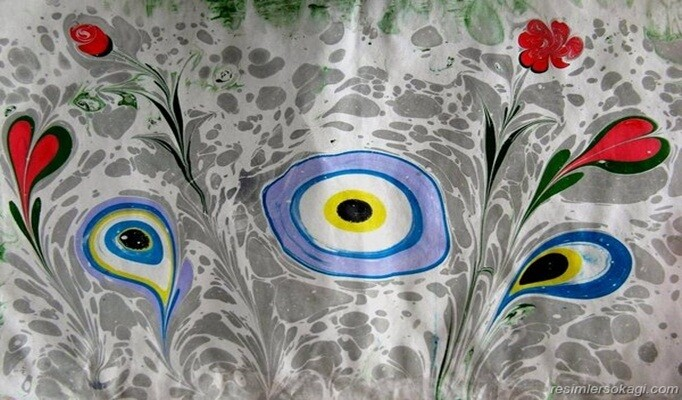 Ebru Sanatı Hakkında Bilgi Ebru Sanatı Nedir Nasıl Yapılır Bilgigo